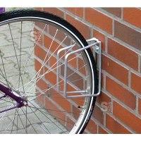 Einzelparker / Fahrradständer -Köln Classic- für Wand- oder Bodenbefestigung, Reifenbreite bis 43mm