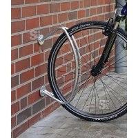 Einzelparker / Fahrradständer -Rimini-, zur Wandbefestigung, verschweißt