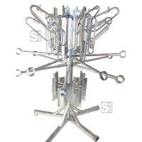 Fahrrad-Karussell -Bari- aus Stahl, mit 12 Einstellplätzen