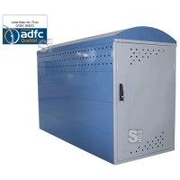 Fahrradgarage / Fahrradbox -Treasure- (2050 x 850), ADFC Qualität, als Grund- oder Anbauelement