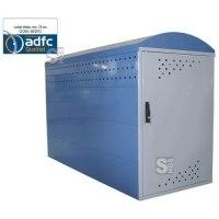 Fahrradgarage / Fahrradbox -Treasure- (2050 x 850 mm), ADFC Qualität, als Grund- oder Anbauelement