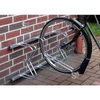 Fahrradklemme / Fahrradständer -Bern Classic-, einseitige Radeinst., für Boden- u. Wandbefestigung