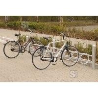 Fahrradklemme / Fahrradständer -Rhodos-, einseitige Radeinstellung 45°