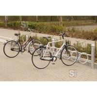 Fahrradklemme / Fahrradständer -Rhodos-, zweiseitige Radeinstellung 45°