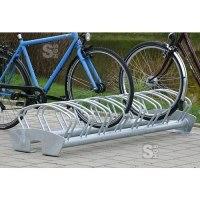 Fahrradklemme / Fahrradständer -Riga-, zweiseitige Radeinstellung, 8 Radstände