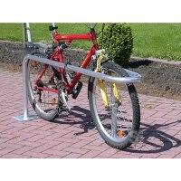 Fahrradparker -Kopenhagen- Ø 48 mm aus Stahl, Höhe 600 mm