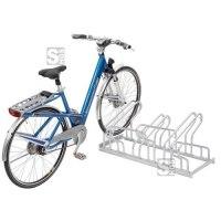 Fahrradständer Edelstahl-Bügelparker Typ 2200 E, zweiseitige Radeinstellung 90°