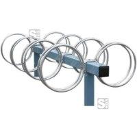 Fahrradständer -Lugano-, zweiseitige Radeinstellung