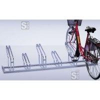 Fahrradständer -Nil-, Reihenanlage, verschweißt