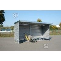 Überdachungssystem -Leipzig-, einseitig